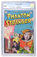 Golden Age (1938-1955):Horror, The Phantom Stranger #4 Mile High pedigree (DC, 1953) CGC VF 8.0Off-white pages....