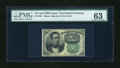 Fractional Currency:Fifth Issue, Fr. 1264 10c Fifth Issue PMG Choice Uncirculated 63....