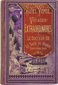 Books:First Editions, Jules Verne. Le Docteur Ox [with] Le Tour du Monde enQuatre-Vingts Jours. Paris: Hetzel, [n.d., 1874]....