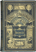 Books:First Editions, Jules Verne. Nord Contre Sud. Paris: Hetzel, 1887....