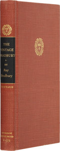 Books:Signed Editions, Ray Bradbury. The Vintage Bradbury: Ray Bradbury's Own Selection of His Best Stories - Signed. New York:...