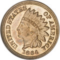 Patterns, 1864/1858 1C Indian/Flying Eagle Cent, Judd-362, Pollock-428, R.8,PR65 Cameo NGC....