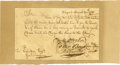 "Autographs:Statesmen, Stephen Hopkins Manuscript Document Signed ""Step. Hopkins,""""Peter Bours,"" and ""Tho: Cranston"" as members ofthe..."