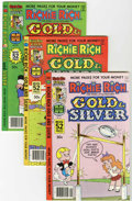 Bronze Age (1970-1979):Cartoon Character, Richie Rich Gold and Silver #21-42 File Copy Group (Harvey,1978-82) Condition: Average NM-.... (Total: 21 Comic Books)