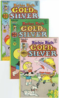 Bronze Age (1970-1979):Cartoon Character, Richie Rich Gold and Silver #6-20 File Copy Group (Harvey, 1976-78)Condition: Average NM-.... (Total: 15 Comic Books)