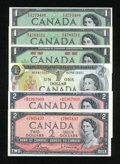 Canadian Currency: , OH, Canada.. ... (Total: 6 notes)