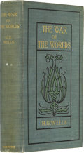 Books:First Editions, H. G. Wells. The War of the Worlds. New York: Harper &Brothers Publishers, 1898....
