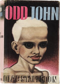 Books:First Editions, Olaf Stapledon. Odd John: A Story Between Jest andEarnest . London: Methuen & Co., 1935....