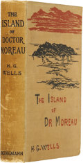 Books:First Editions, H. G. Wells. The Island of Doctor Moreau. London: WilliamHeinemann, 1896....