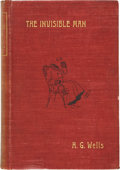 Books:First Editions, H. G. Wells. The Invisible Man, A Grotesque Romance.London: C. Arthur Pearson Limited, 1897....
