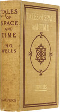 Books:First Editions, H. G. Wells. Tales of Space and Time. London and New York:Harper & Brothers, 1900....