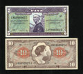 Military Payment Certificates:Series 641, Two MPCS.. ... (Total: 2 notes)