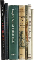Books:Signed Editions, Robert Frost. Seven Titles, Four of Which are Signed by Frost, OneSigned by Louis Untermeyer.... (Total: 7 Items)