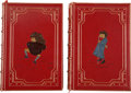 Books:Children's Books, Lewis Carroll. Sylvie and Bruno Books, Beautifully Bound asa Matching Two-Volume Set,... (Total: 2 Items)