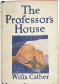 Books:First Editions, Willa Cather. The Professor's House. New York: AlfredA. Knopf, 1925....