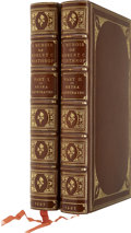 Books:First Editions, Robert C. Winthrop, Jr. A Memoir of Robert C. Winthrop[Extra-Illustrated Edition in Two Volumes]. Boston: Littl...(Total: 2 Items)
