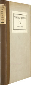 Books:First Editions, Robert Frost. North of Boston. New York: Henry Holt andCompany, 1914 [1915, per Crane]....