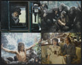 "Movie Posters:Adventure, Greystoke: The Legend of Tarzan, Lord of the Apes (Warner Brothers,1983). Jumbo Lobby Cards (4) (14"" X 17""). Adventure.. ... (Total: 4Items)"