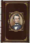 Books:First Editions, [Cosway-style binding]. [Abraham Lincoln]. Nathaniel WrightStephenson [editor]. An Autobiography of Abraham Lincoln...