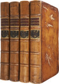 Books:Non-American Editions, William Blackstone. Commentaries on the Laws of England.Oxford: The Clarendon Press, 1770.. ... (Total: 4 Items)