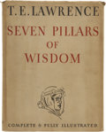Books:First Editions, T. E. Lawrence. Seven Pillars of Wisdom a Triumph. GardenCity: Doubleday, Doran & Company, Inc., 1935....