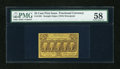Fractional Currency:First Issue, Fr. 1281 25c First Issue PMG Choice About Unc 58....