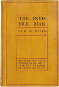Books:First Editions, H. G. Wells. The Invisible Man, A Grotesque Romance.New York: Edward Arnold, 1897....