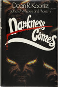 Books:First Editions, Dean R. Koontz. Darkness Comes. London: W. Allen, 1984....
