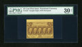 Fractional Currency:First Issue, Fr. 1281 25c First Issue PMG Very Fine 30 Net....