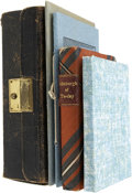 Books:First Editions, Lot of Five Miniature Books... (Total: 5 Items)