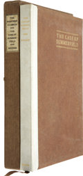 Books:First Editions, W. H. Rhodes. The Case of Summerfield. San Francisco and NewYork: Paul Elder & Company, 1907. First edition lim...