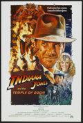 "Movie Posters:Adventure, Indiana Jones and the Temple of Doom (Paramount, 1984). One Sheet(27"" X 40""). Adventure...."