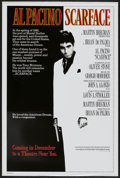 "Movie Posters:Crime, Scarface (Universal, 1983). One Sheet (27"" X 41"") Advance.Crime...."