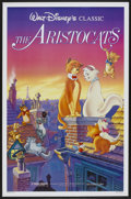 "Movie Posters:Animated, The Aristocats Lot (Buena Vista, R-1987). One Sheets (2) (27"" X 41""and 28.5"" X 40""). Animated.... (Total: 2 Items)"