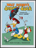 "Movie Posters:Animated, Donald's Golf Game (Circle Fine Art, 1980s). Fine Art Serigraph(22.75"" X 30.5""). Animated...."