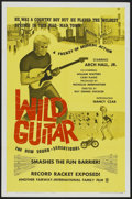 """Movie Posters:Rock and Roll, Wild Guitar (Fairway International, 1962). One Sheet (27"""" X 41"""").Rock and Roll...."""