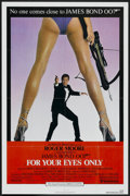 """Movie Posters:James Bond, For Your Eyes Only (United Artists, 1981). One Sheet (27"""" X 41""""). James Bond...."""