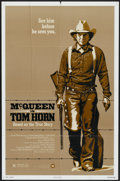 "Movie Posters:Western, Tom Horn (Warner Brothers, 1980). One Sheet (27"" X 41""). Western...."