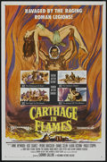 "Movie Posters:Historical Drama, Carthage in Flames (Columbia, 1960). One Sheet (27"" X 41"").Historical Drama...."