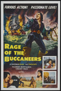 "Movie Posters:Adventure, Rage of the Buccaneers (Colorama, 1963). One Sheet (27"" X 41"").Adventure...."