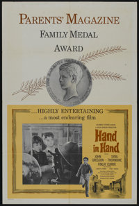 """Hand in Hand (Columbia, 1961). One Sheet (27"""" X 41"""") Parents' Magazine Style. Drama"""