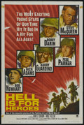 "Movie Posters:War, Hell Is for Heroes (Paramount, 1962). One Sheet (27"" X 41"") andBlack and White Stills (12) (8"" X 10""). War.... (Total: 13 Items)"