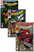 Modern Age (1980-Present):Superhero, Spider-Man Long Box Group (Marvel, 1990-93) Condition: AverageNM-....