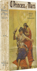 Books:First Editions, Edgar Rice Burroughs. A Princess of Mars - Advance ReviewCopy. Chicago: A. C. McClurg & Co., 1917....