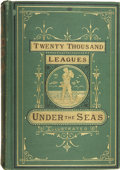 Books:First Editions, Jules Verne. Twenty Thousand Leagues Under the Seas. Boston:Geo. M. Smith & Co., 1873....