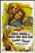 "Movie Posters:Animated, Sinbad the Sailor (RKO, 1946). One Sheet (27"" X 41"") Style A.Adventure...."