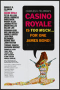 "Movie Posters:James Bond, Casino Royale (Columbia, 1967). One Sheet (27"" X 41""). James Bond...."