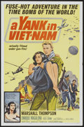 "Movie Posters:War, A Yank in Viet-Nam (Allied Artists, 1964). One Sheet (27"" X 41"").War...."