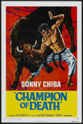 "Movie Posters:Action, Champion of Death (United Artists, 1976). One Sheet (27"" X 41""). Action...."