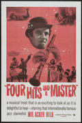 "Movie Posters:Musical, Four Hits and a Mister (Universal, 1960s). One Sheet (27"" X 41""). Musical...."